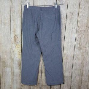 Old Navy Womens Cropped Pants Size 2 Gray Stretch